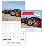 Street Rods Spiral Wall Calendars